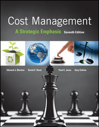 Test Bank for Cost Management: A Strategic Emphasis