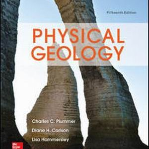 Test Bank for Physical Geology, 15th Edition, By Plummer