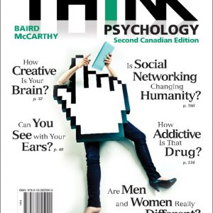 Solution Manual for THINK Psychology, Second Canadian Edition, 2nd Edition Baird