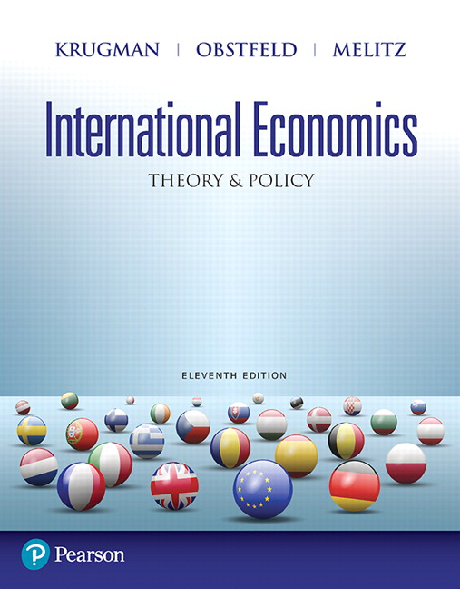 Test Bank for International Economics: Theory and Policy