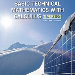 Solution Manual for Basic Technical Mathematics with Calculus SI Version 11th Canadian Edition Washington