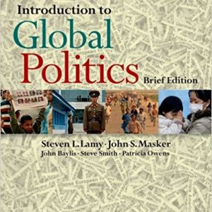 Test Bank for Introduction to Global Politics, Edition