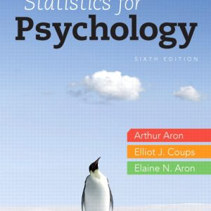 Solution Manual for Statistics for Psychology
