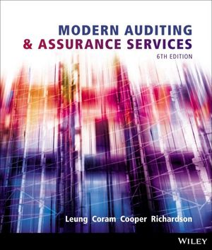 Solution Manual for Modern Auditing and Assurance Services