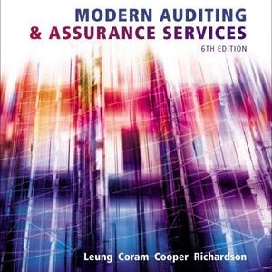 Test Bank for Modern Auditing and Assurance Services