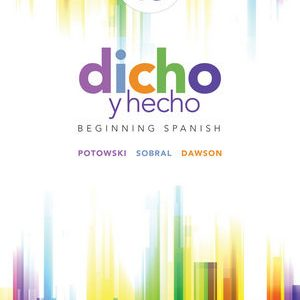 Test Bank for Dicho y hecho: Beginning Spanish