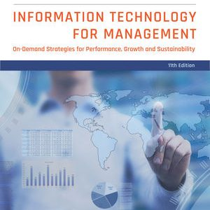 Test Bank for Information Technology for Management: On-Demand Strategies for Performance