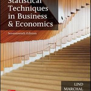 Solution Manual for Statistical Techniques in Business and Economics