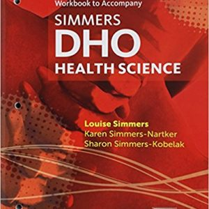 Test Bank for DHO Health Science