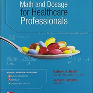 Test Bank for Math and Dosage Calculations for Healthcare Professionals