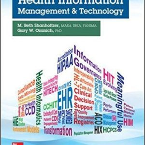 Test Bank for Health Information Management and Technology