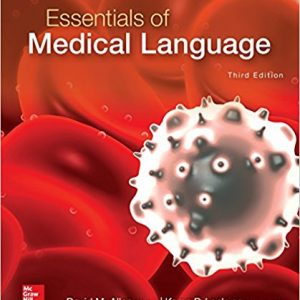 Test Bank for Essentials of Medical Language 3rd Edition