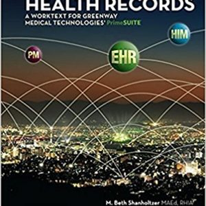 Test Bank for Integrated Electronic Health Records