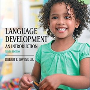 Test Bank for Language Development