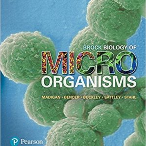 Test Bank for Brock Biology of Microorganisms 15th Edition by Madigan