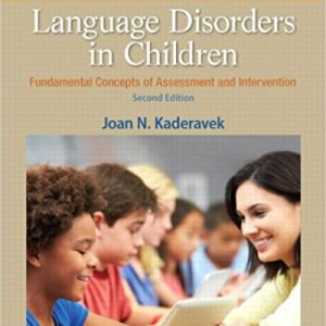 Test Bank for Language Disorders in Children
