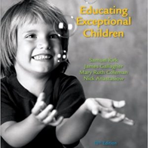 Test Bank for Educating Exceptional Children