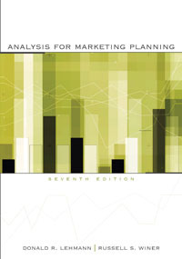 Solution Manual for Analysis for Marketing Planning
