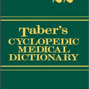 Test Bank for Taber's Cyclopedic Medical Dictionary (Thumb-indexed Version), 22nd Edition Venes