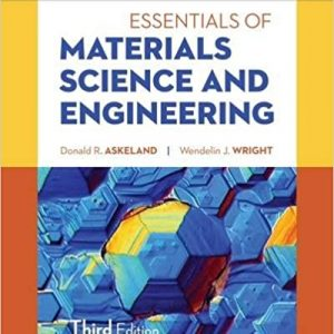 Solution Manual for Essentials of Materials Science & Engineering