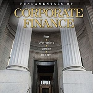 Test Bank for Fundamentals of Corporate Finance