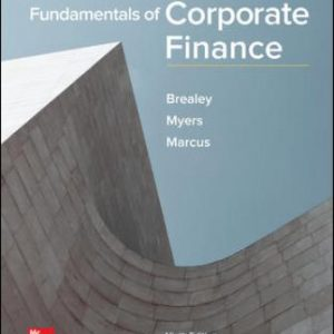 Solution Manual for Fundamentals of Corporate Finance 9th Edition Brealey
