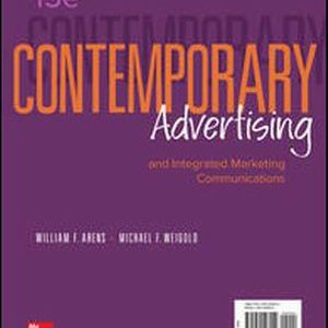 Solution Manual for Contemporary Advertising