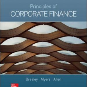 Test Bank for Principles of Corporate Finance
