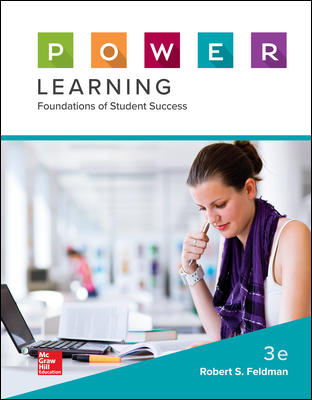 Test Bank for P.O.W.E.R. Learning: Foundations of Student Success 3rd Edition Feldman