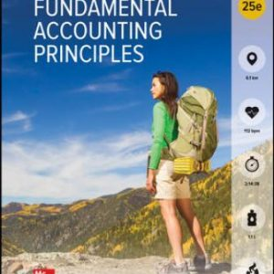 Solution Manual for Fundamental Accounting Principles 25th Edition Wild
