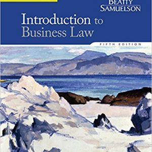 Solution Manual for Introduction to Business Law