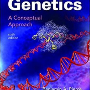 Test Bank for Genetics: A Conceptual Approach, 6th Edition, Pierce