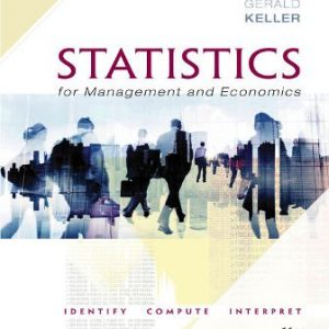 Test Bank for Statistics for Management and Economics 11th Edition Keller