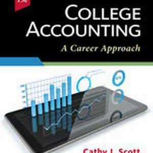 Solution Manual for College Accounting: A Career Approach