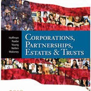 Solution Manual for South-Western Federal Taxation 2018: Corporations, Partnerships, Estates and Trusts, 41st Edition Hoffman