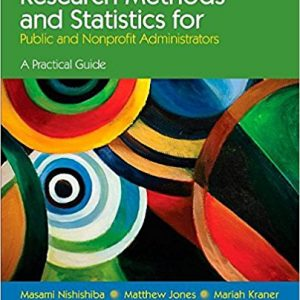 Test Bank for Research Methods and Statistics for Public and Nonprofit Administrators