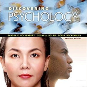 Test Bank for Discovering Psychology 7th Edition Hockenbury