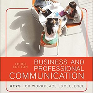Test Bank for Business and Professional Communication: KEYS for Workplace Excellence