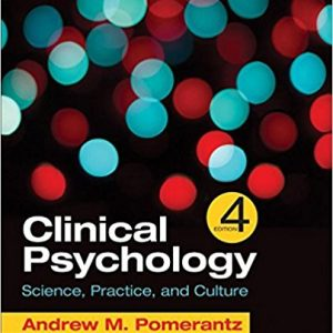 Test Bank for Clinical Psychology Science