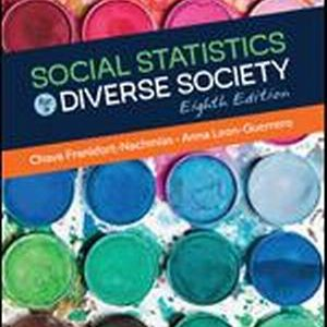 Test Bank for Social Statistics for a Diverse Society