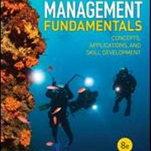 Test Bank for Management Fundamentals Concepts
