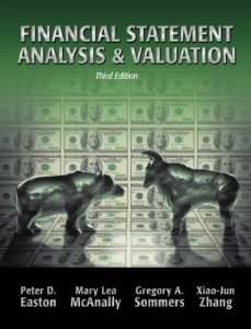 Test Bank for Financial Statement Analysis and Valuation, 3rd Edition, by McAnally