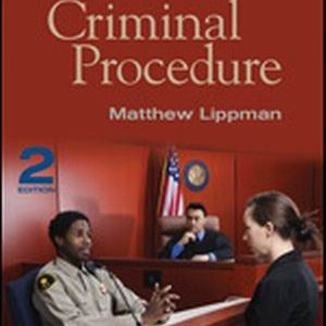 Test Bank for Criminal Procedure, 2nd Edition, Lippman