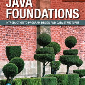 Solution Manual for Java Foundations: Introduction to Program Design and Data Structures 5th Edition Lewis