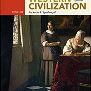 Test Bank for Western Civilization: Alternate Volume: Since 1300 10th Edition Spielvogel