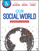 Test Bank for Our Social World Introduction to Sociology 7th Edition Ballantine