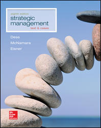 Test Bank for Strategic Management Text and Cases 8th Edition by Dess
