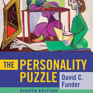 Test Bank for The Personality Puzzle 8th Edition Funder