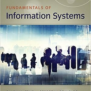 Test Bank for Fundamentals of Information Systems 9th Edition Stair