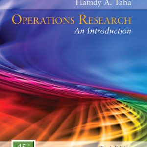 Solution Manual for Operations Research: An Introduction 10th Edition Taha